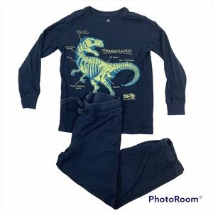 Boys Lands End Kids Two Piece Outfit Size 7